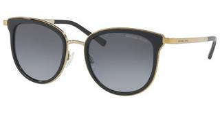 Michael Kors MK1010 1100T3 GREY POLARIZED GRADIENTBLACK/GOLD-TONE