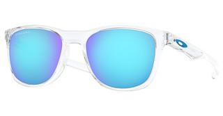 Oakley OO9340 934019 PRIZM SAPPHIREPOLISHED CLEAR