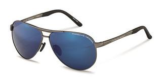 Porsche Design P8649 F-strong strong dark blue mirror 90%satin gun