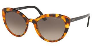 Prada PR 02VS UF33D0 LIGHT BROWN GRAD LIGHT GREYORANGE HAVANA
