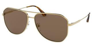 Prada PR 63XS 5AK05D BROWN MIRROR INTERNAL GREYGOLD