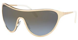 Prada PR 72VS 5AK710 BLUE GRADIENT GREY MIRROR GOLDGOLD