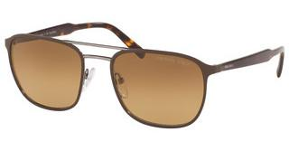 Prada PR 75VS LAH732 POLAR BROWN GRADIENTMATTE BROWN/GUNMETAL