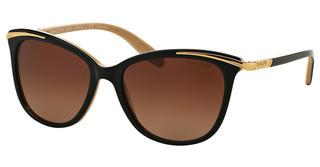 Ralph RA5203 1090T5 POLAR GRADIENT BROWNSHINY BLACK ON NUDE & GOLD