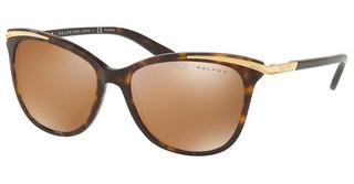 Ralph RA5203 13782T POLAR BROWN MIRROR GOLDSHINY DARK HAVANA & GOLD