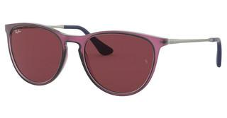 Ray-Ban Junior RJ9060S 705675 DARK VIOLETRUBBER TRASPARENT FUXIA