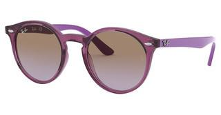 Ray-Ban Junior RJ9064S 706468 VIOLET GRADIENT BROWNTRANSPARENT FUXIA