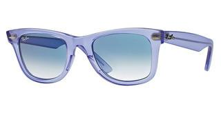Ray-Ban RB2140 60603F GRADIENT LIGHT BLUEDEMI GLOSS LILAC