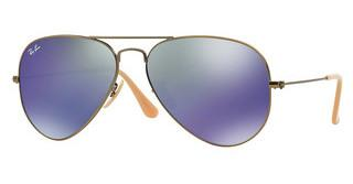 Ray-Ban RB3025 167/68 BLUE MIRRORDEMIGLOS BRUSCHED BRONZE