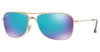 Ray-Ban RB3543 112/A1 BLUE POLAR FLASHMATTE GOLD