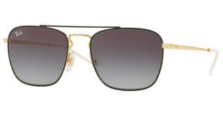 Ray-Ban RB3588 90548G GREY GRADIENT DARK GREYGOLD ON TOP BLACK