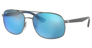 Ray-Ban RB3593 004/55 BLUE MIRROR BLUEGUNMETAL