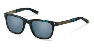 Rocco by Rodenstock RR322 C blue mirror - 88%black/turquoise havana