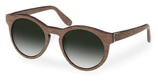 Wood Fellas 10756 walnut/green