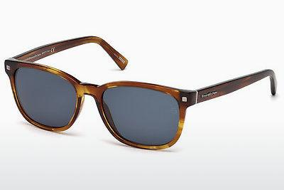 Solbriller Ermenegildo Zegna EZ0075 53V - Havanna, Yellow, Blond, Brown