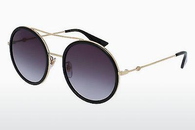 Solbriller Gucci GG0061S 001 - Guld