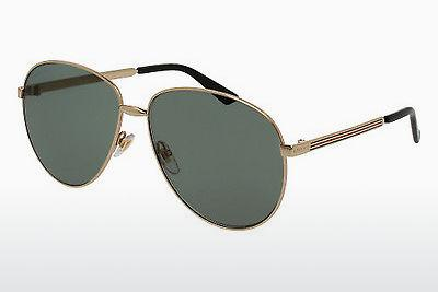 Solbriller Gucci GG0138S 001 - Guld