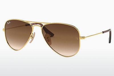 Solbriller Ray-Ban Junior RJ9506S 223/13 - Guld