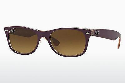 Solbriller Ray-Ban NEW WAYFARER (RB2132 619285) - Purpur