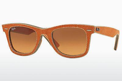 Solbriller Ray-Ban WAYFARER (RB2140 11653C) - Orange