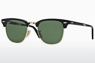 Solbriller Ray-Ban CLUBMASTER FOLDING (RB2176 901) - Sort