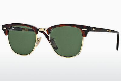 Solbriller Ray-Ban CLUBMASTER FOLDING (RB2176 990) - Brun, Havanna