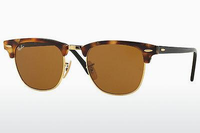 Solbriller Ray-Ban CLUBMASTER (RB3016 1160) - Brun, Havanna