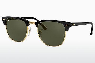 Solbriller Ray-Ban CLUBMASTER (RB3016 W0365) - Sort