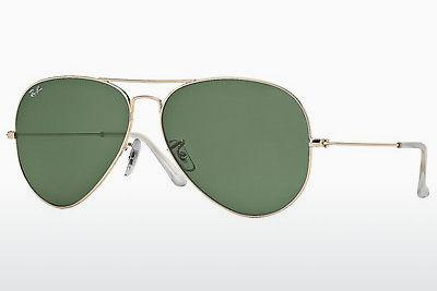 Solbriller Ray-Ban AVIATOR LARGE METAL (RB3025 001) - Guld