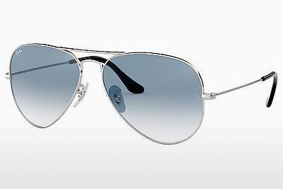 Solbriller Ray-Ban AVIATOR LARGE METAL (RB3025 003/3F) - Sølv