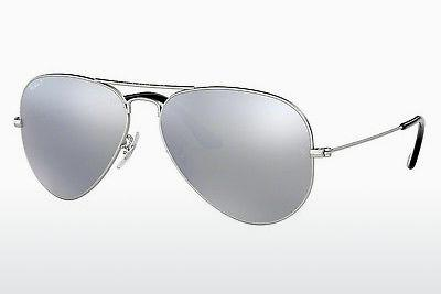 Solbriller Ray-Ban AVIATOR LARGE METAL (RB3025 019/W3) - Sølv