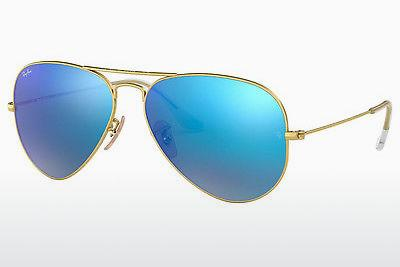 Solbriller Ray-Ban AVIATOR LARGE METAL (RB3025 112/17) - Guld