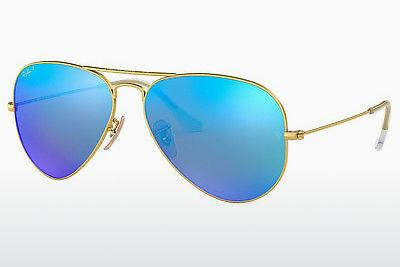 Solbriller Ray-Ban AVIATOR LARGE METAL (RB3025 112/4L) - Guld
