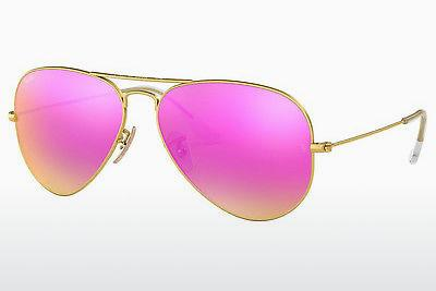 Solbriller Ray-Ban AVIATOR LARGE METAL (RB3025 112/4T) - Guld