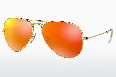 Solbriller Ray-Ban AVIATOR LARGE METAL (RB3025 112/69) - Guld