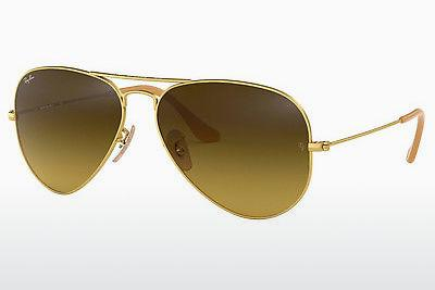 Solbriller Ray-Ban AVIATOR LARGE METAL (RB3025 112/85) - Guld