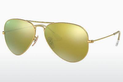 Solbriller Ray-Ban AVIATOR LARGE METAL (RB3025 112/93) - Guld