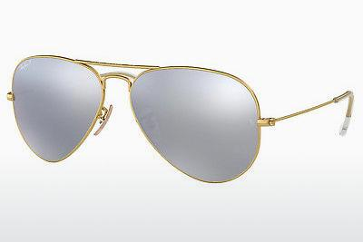 Solbriller Ray-Ban AVIATOR LARGE METAL (RB3025 112/W3) - Guld