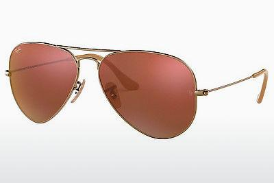 Solbriller Ray-Ban AVIATOR LARGE METAL (RB3025 167/2K) - Brun