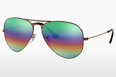Solbriller Ray-Ban AVIATOR LARGE METAL (RB3025 9018C3) - Brun