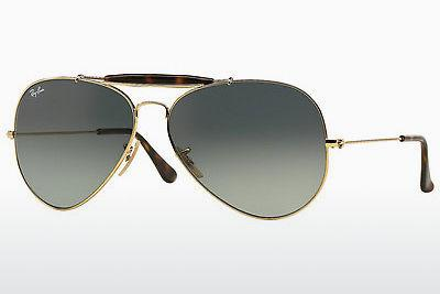 Solbriller Ray-Ban OUTDOORSMAN II (RB3029 181/71) - Guld