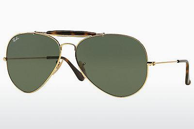 Solbriller Ray-Ban OUTDOORSMAN II (RB3029 181) - Guld