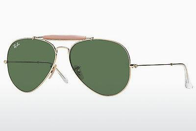 Solbriller Ray-Ban OUTDOORSMAN II (RB3029 L2112) - Guld