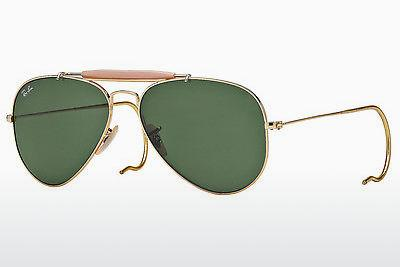 Solbriller Ray-Ban OUTDOORSMAN (RB3030 L0216) - Guld