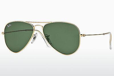 Solbriller Ray-Ban AVIATOR SMALL METAL (RB3044 L0207) - Guld