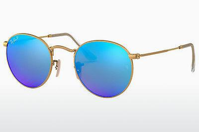Solbriller Ray-Ban ROUND METAL (RB3447 112/4L) - Guld