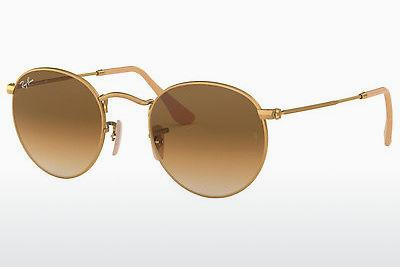 Solbriller Ray-Ban ROUND METAL (RB3447 112/51) - Guld
