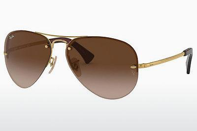 Solbriller Ray-Ban RB3449 001/13 - Guld