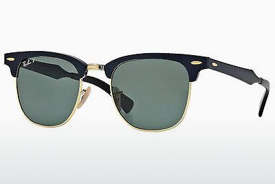 Solbriller Ray-Ban CLUBMASTER ALUMINUM (RB3507 136/N5) - Sort