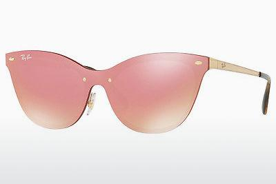 Solbriller Ray-Ban RB3580N 043/E4 - Rosa, Guld